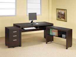 L Shaped Computer Desk With Hutch Computer Desk L Shaped With Keyboard Tray Home And Garden Decor