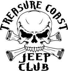 jeep beach logo treasure coast jeep club
