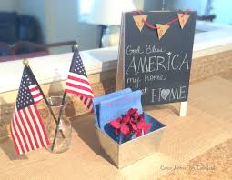 my home sweet home patriotic decor u2013 come home for comfort