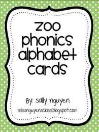 zoo phonics related cut u0026 paste pages educational tidbits