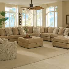 furniture cream upholstered sectional sofa with chaise plus