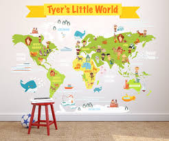 kids world map wall decal kids room world map wall decal zoom
