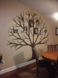 painting a tree on a wall diy ideas walls family