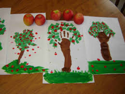 craft of the week 7 apple trees god s canvas