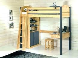 lit superposé avec bureau pas cher lit sureleve avec bureau meetharry co