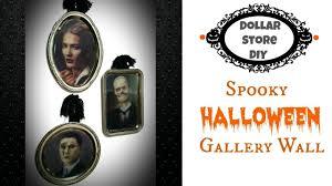 dollar store diy spooky halloween gallery wall quick u0026 easy to
