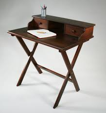 small vintage desk portable solid wood campaign desk by manchester wood