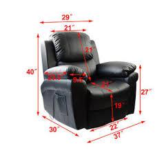 mcombo black massage sofa recliner chair vibrating 360 degree