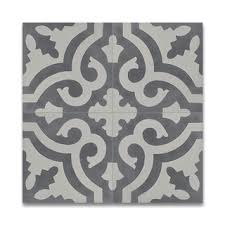 Floor And Tile Decor Outlet Shop For Tanger Grey And White Handmade Cement 8 X 8 Inch Moroccan