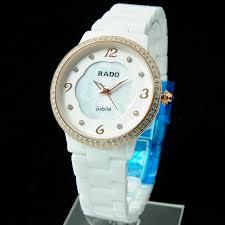 Jam Tangan Alba Putih jual jam tangan wanita rado bunga keramik putih ws216 casio alba ck
