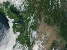 Satellite Map Of Washington State by Libby South Fire Washington Image Of The Day
