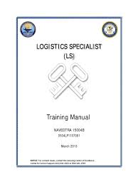 logistics specialist navedtra 15004b united states navy mail