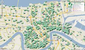 Map New Orleans French Quarter New Orleans Exploration Of Urban Soul Exploring The Fringe Of