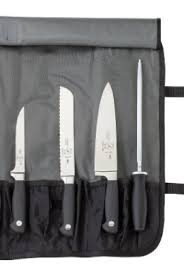 mercer kitchen knives mercer culinary genesis 7 forged knife roll set steelblack 0
