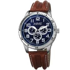 Watch Interior Leather Bar Online Blue Men U0027s Watches For Less Overstock Com