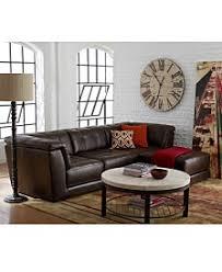 Leather Furniture Macys - Leather living room chair