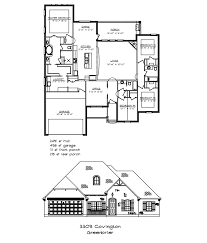Covington Floor Plan by Ridgewood Custom Homes College Station Tx Current Projects