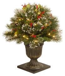 lightly flocked christmas tree flocked christmas tree