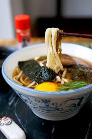 Light Foods To Eat Light Udon Noodle Soup Pickled Plum Food And Drinks