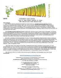2015 stomp u0027n on da bayou sponsorship letter evergreen cajun center