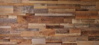 diy reclaimed barn wood accent wall brown mixed width