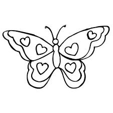 coloriage papillon a imprimer gratuit 2 crafts coloring pages
