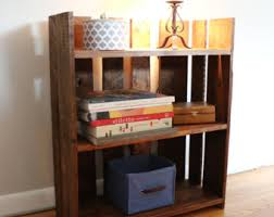 Wooden Bookshelf Pictures by Wood Bookshelf Etsy