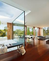 glass wall house glass wall panels for elegant modern natural house design
