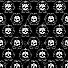 halloween skeleton wallpaper pattern pirate skull wallpaper for tattoo parlor royalty free