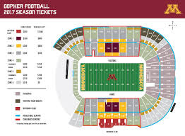 Ups Shipping Map Gopher Football Season Ticket Holder Central University Of