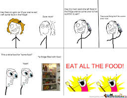 All The Meme - eat all the food by zxealot meme center