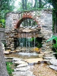 diy waterfall wall miami beach residence modern indoor fountains