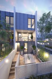 modern 4 plex plexes pinterest modern townhouse and
