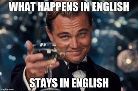 English Memes - leonardo dicaprio cheers meme imgflip