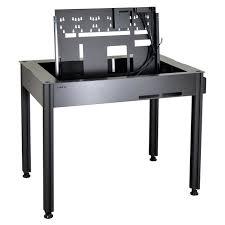 boitier bureau bureau boîtier pc lian li dk q2 avec fenêtre prix pas cher cdiscount