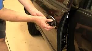 2002 Toyota Camry Interior Door Handle How To Replace Exterior Door Handle On 1998 2002 Toyota Corolla