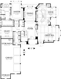bar floor plans spacious great room and kitchen with bar 69139am