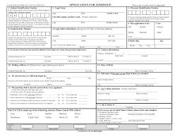 application blank job application form