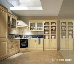 Imported Kitchen Cabinets Off White Pvc Elegant Kitchen Cabinet Classic Design