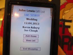 wedding gift list lewis our wedding gift list well i guess this is growing up