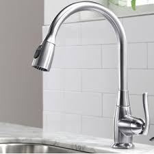 pulldown kitchen faucets kitchen faucets wayfair