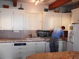 How To Paint Oak Kitchen Cabinets White by Popular White Oak Kitchen Cabinets My Home Design Journey