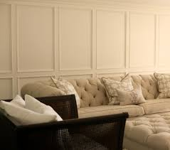 wainscoting ideas for living room fascinating living room wall decor with upholstered velvet grey sofa