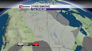 Fire Evacuations Saskatchewan by Watching For Wildfires How Baron U0027s Fire And Smoke Product Can