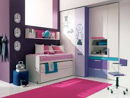 bedroom lovely blue wall paint color and adorable charming elegant pink rectangle rug and charming simple cabinet teenage girl bedroom with purple wall paint color