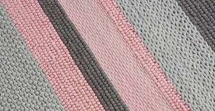 Round Pink Rugs by Installing The Pink And Grey Rug On Round Area Rugs Floor Rugs