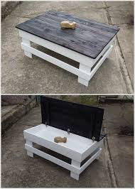 Creative Ideas For Outdoor Coffee Table Creative Ideas For Recycled Wood Pallets Pallets Storage And
