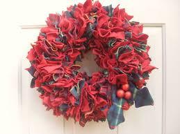 how to make a rag wreath cool diy wreath ideas with cheap materials