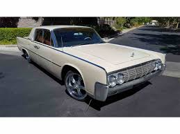 lincoln continental 1964 lincoln continental for sale classiccars com cc 979693