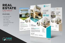 real estate business flyer template templates creativ with